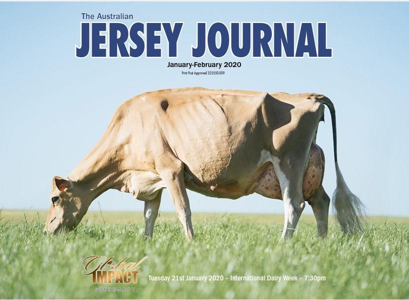 Australian Jersey Journal Jan/ Feb 2020 Edition
